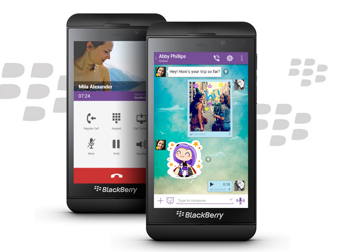 Download Viber for BlackBerry OS for free