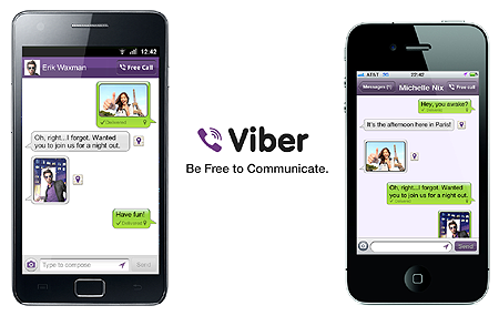 Viber for iPhone 3GS