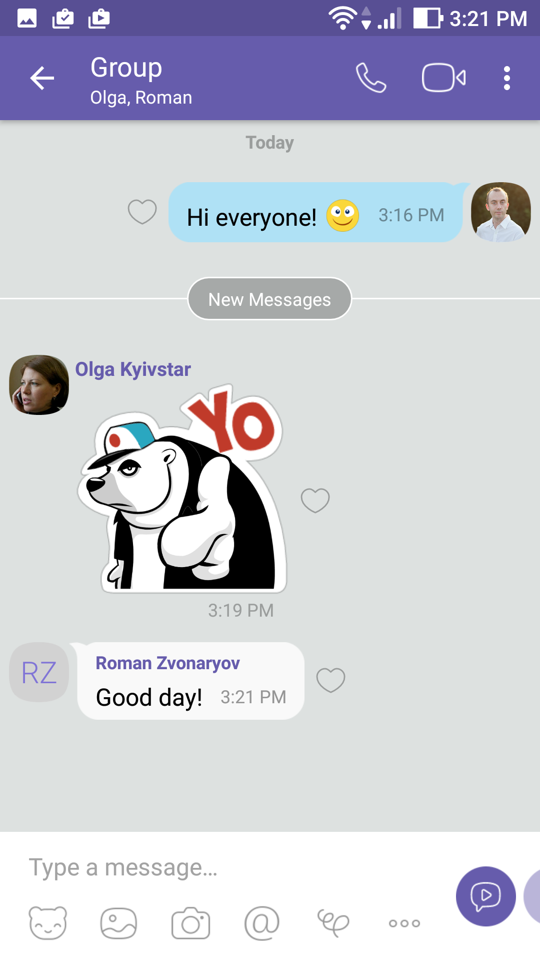 How to create group chat in Viber