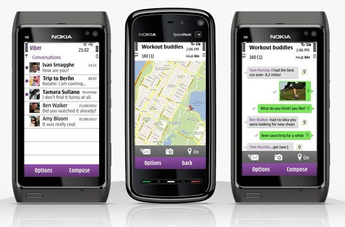 Download Viber for Nokia for free