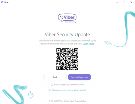 Can you have Viber on two devices?