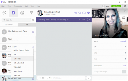 Viber for Windows 10