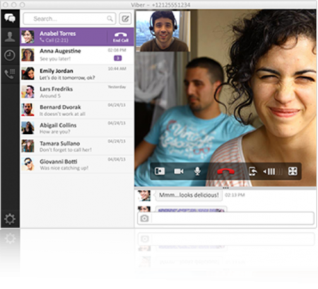 Viber for Mac OS X