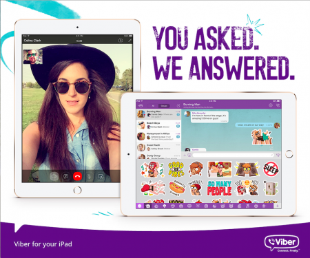 Viber for iPad