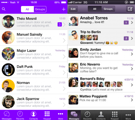 Viber for iPhone 4S