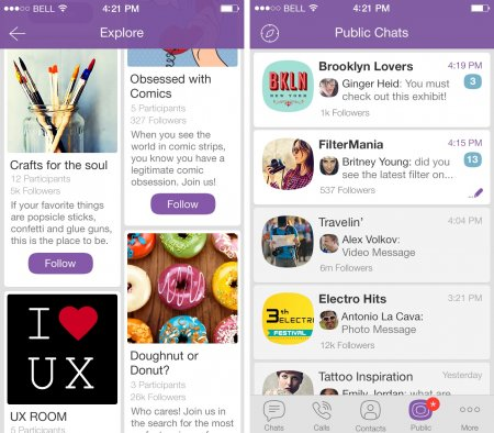 Viber for iPhone 5S