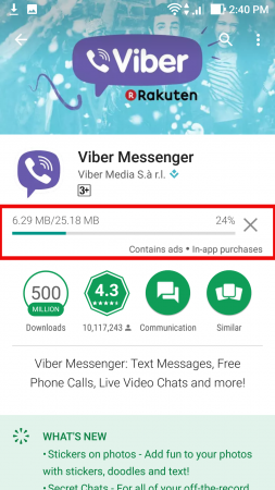 How to install Viber on Android