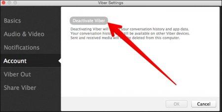 Uninstalling Viber on Mac OS