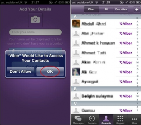 How to use Viber on iPhone