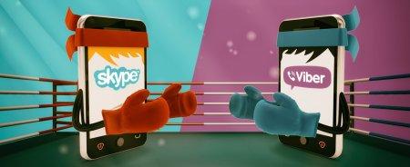 Viber vs Skype